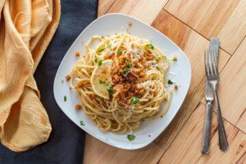 Ricetta Spaghetti Con La Mollica