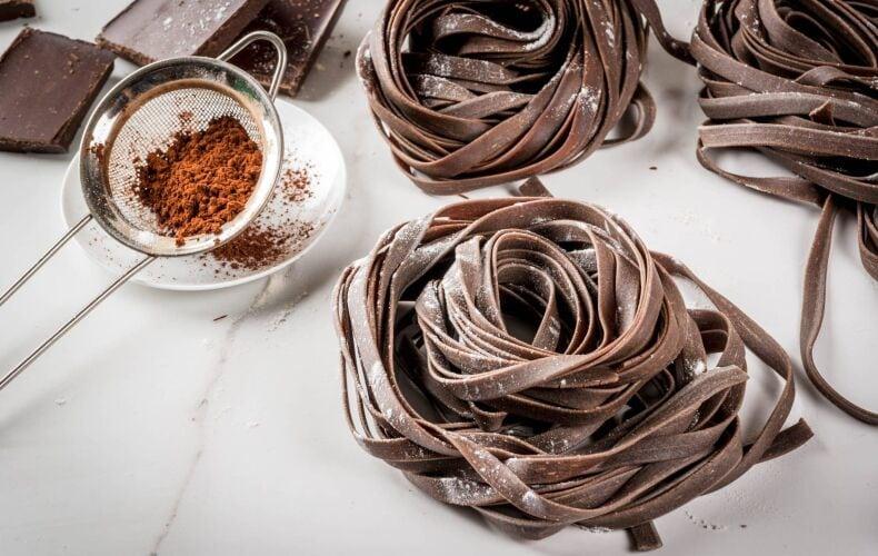 Ricetta Tagliatelle Al Cacao Fatte In Casa