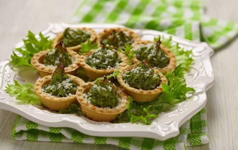 Ricetta Tartellette Con Alberelli Di Patate Duchessa E Spinaci