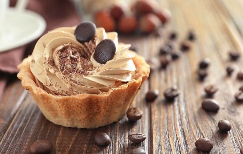 Ricetta Tartellette Con Crema Al Caffe