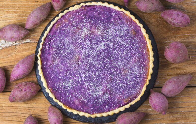 Ricetta Torta Di Patate Viola