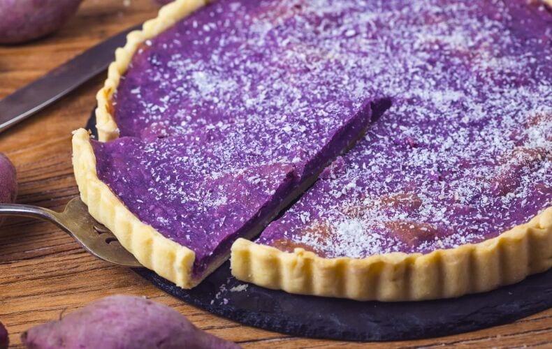 Ricetta Torta Patate Viola
