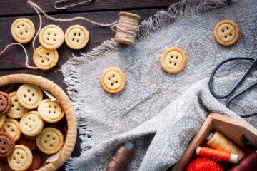 Ricetta Biscotti Bottone