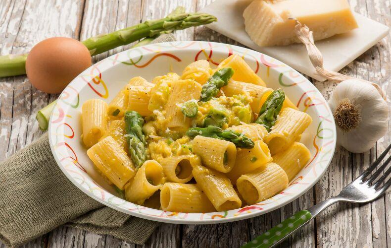 Ricetta Carbonara Vegetariana Di Asparagi