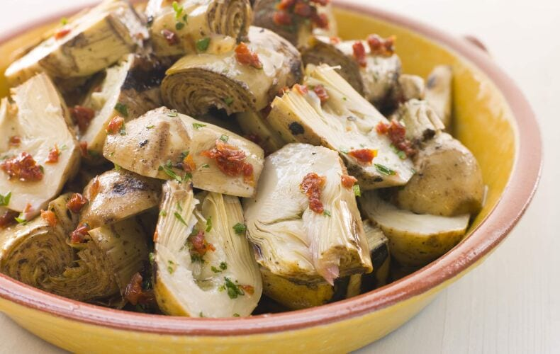 Ricetta Carciofi Trifolati Con Pomodori Secchi