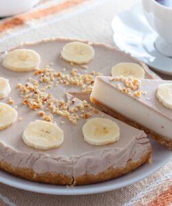 Ricetta Cheesecake Alla Banana