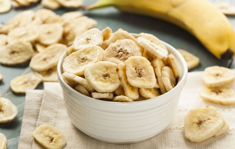 Ricetta Chips Di Banana