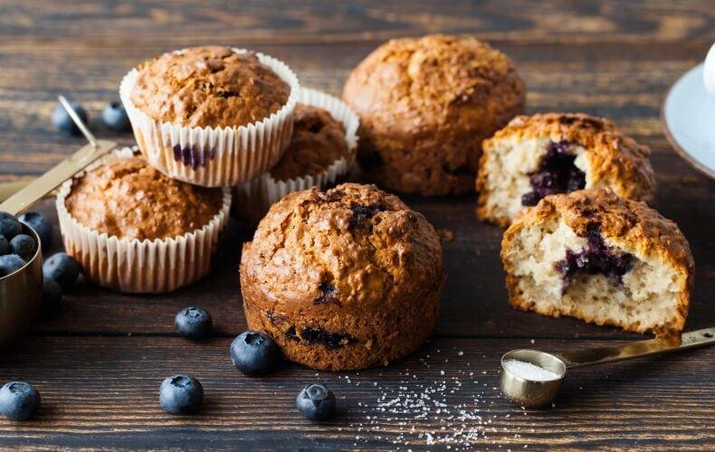 Ricetta Muffin Ai Mirtilli