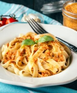 Ricetta Pasta Al Pesto Siciliano