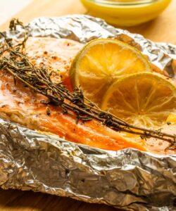Ricetta Salmone Al Limone Al Forno