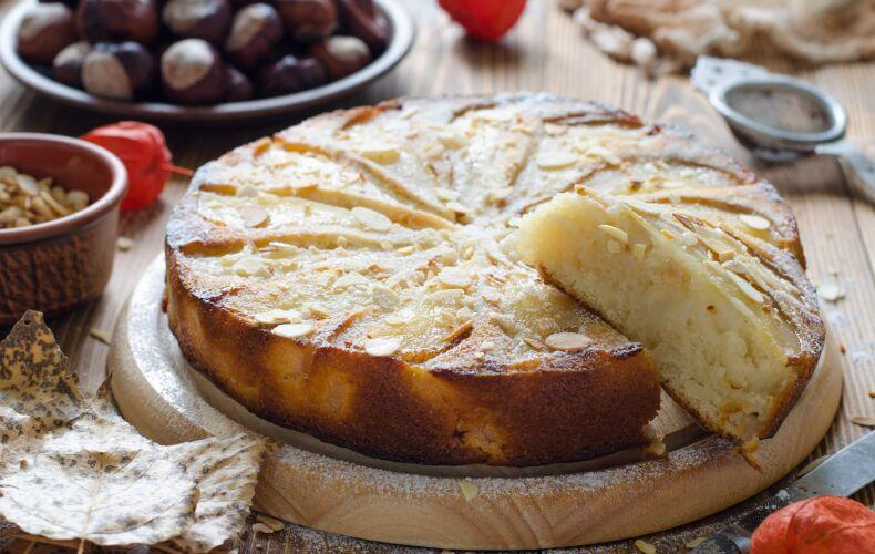 Ricetta Torta Pere E Mandorle