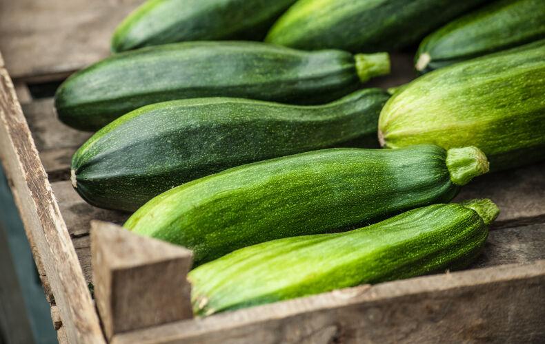 Zucchine In Cassetta