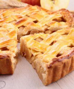 Ricetta Crostata Vegana Con Crema Pasticcera E Mele