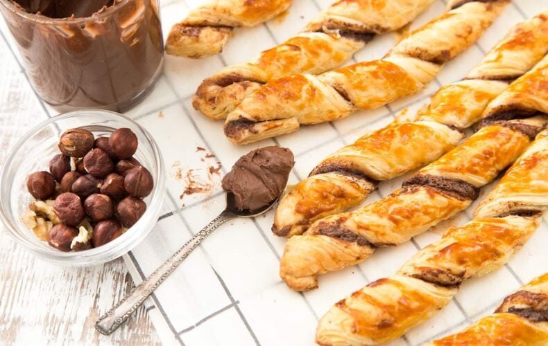 Ricetta Grissini Velocissimi Alla Nutella