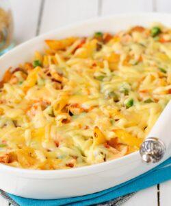 Ricetta Pasta Al Forno Con Peperoni E Salsiccia