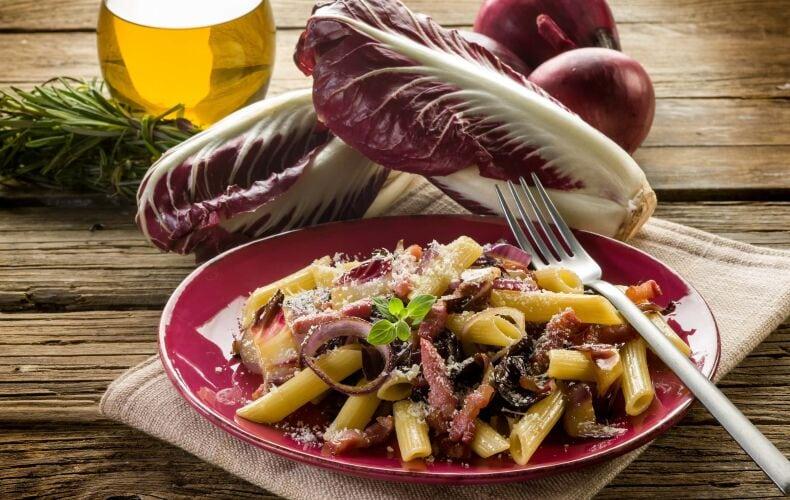 Ricetta Pasta Al Radicchio