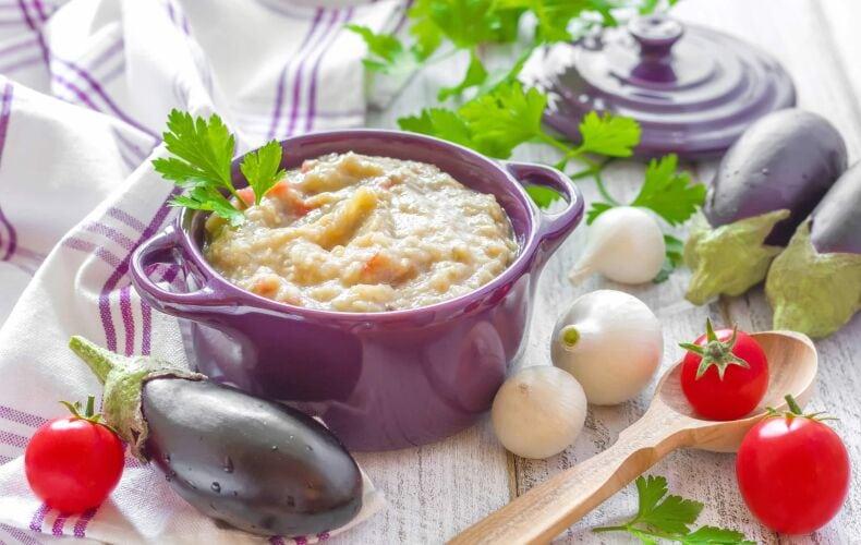 Ricetta Pesto Di Melanzane