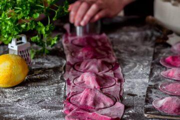 Ricetta Ravioli Barbabietola Coppapasta