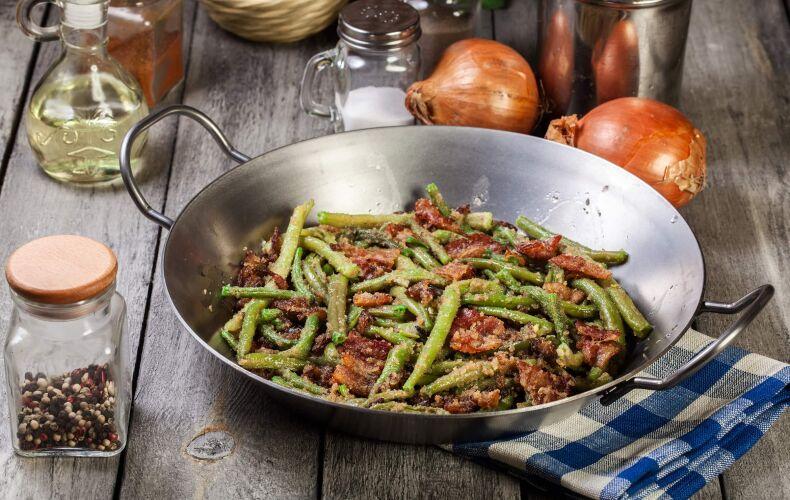 Ricetta Fagiolini E Pancetta