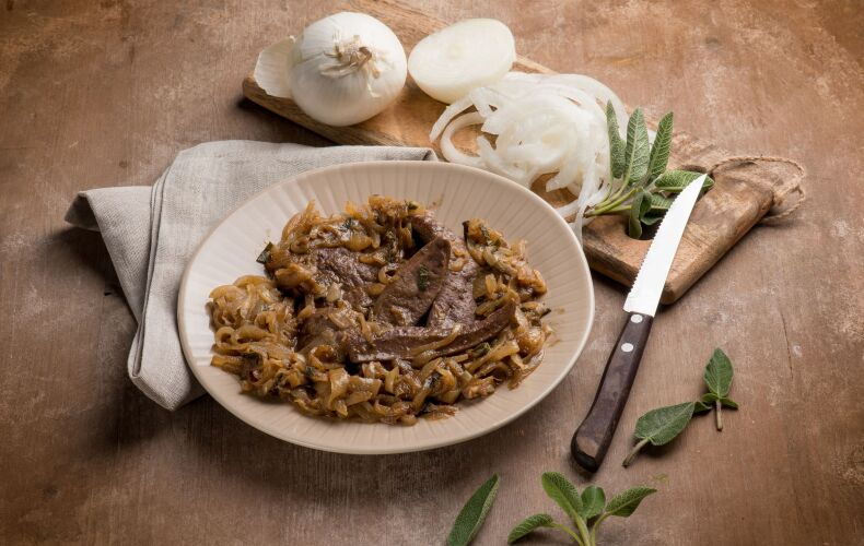 Ricetta Fegato Con Cipolle