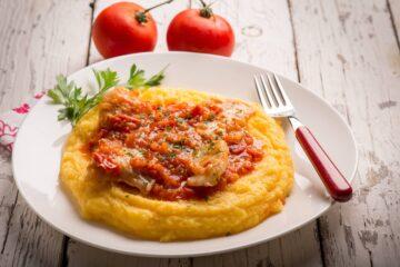 Ricetta Merluzzo In Umido Con Polenta