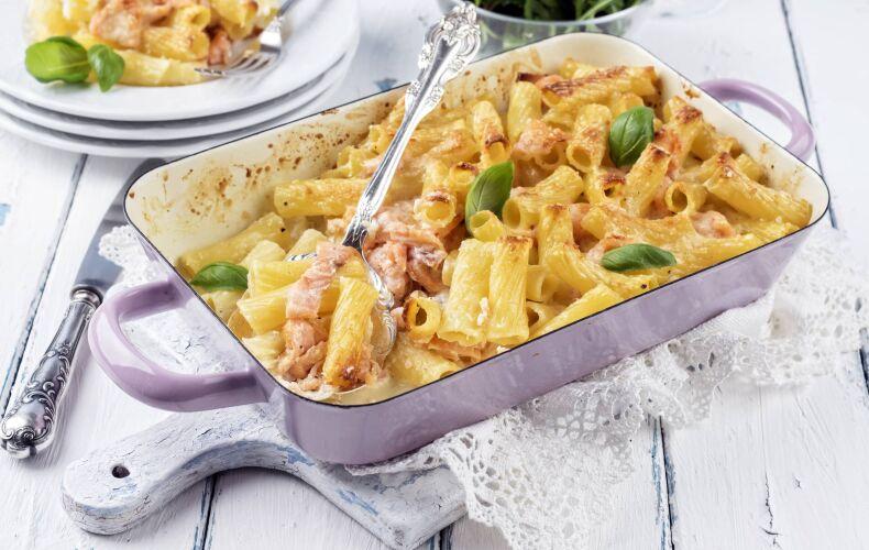 Ricetta Pasta Al Forno Con Salmone