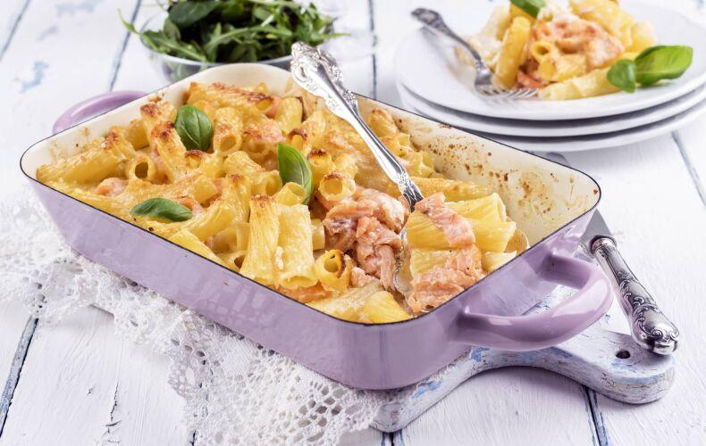 Ricetta Pasta Al Forno Con Salmone Facile Veloce