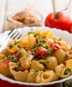Ricetta Pasta Tonno E Piselli Al Pomodoro