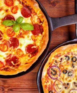 Ricetta Pizza In Padella