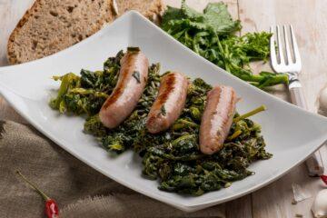 Ricetta Salsiccia E Spinaci In Padella
