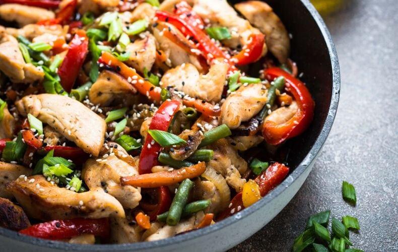 Ricetta Straccetti Di Pollo E Verdure