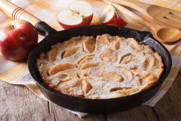 Ricetta Torta Di Mele In Padella