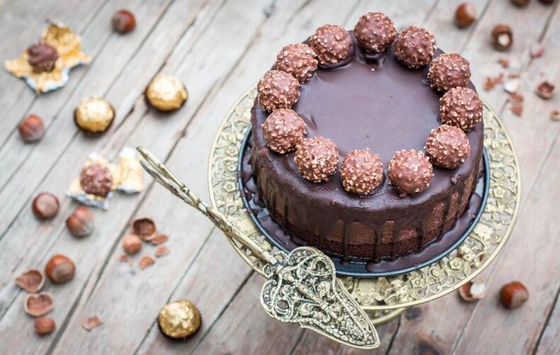 Ricetta Torta Ferrero Rocher