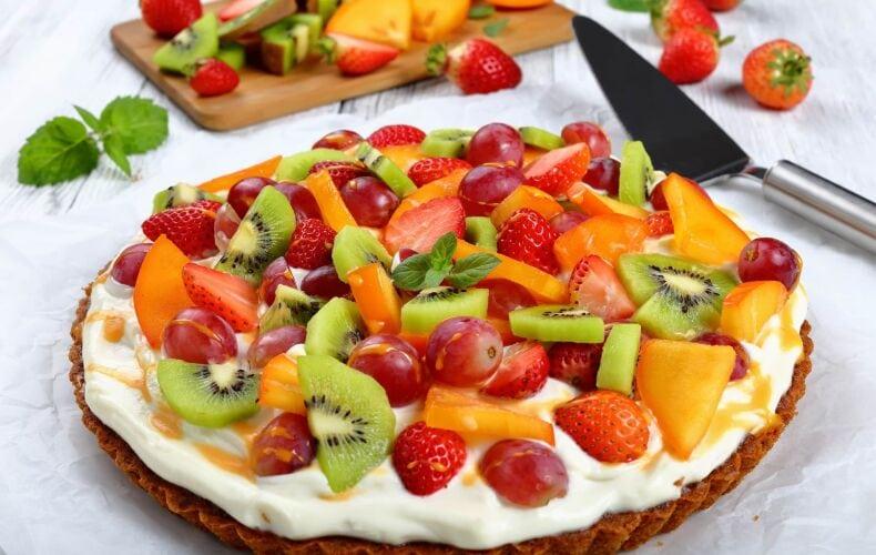 Ricetta Crostata Furba Alla Crema E Frutta