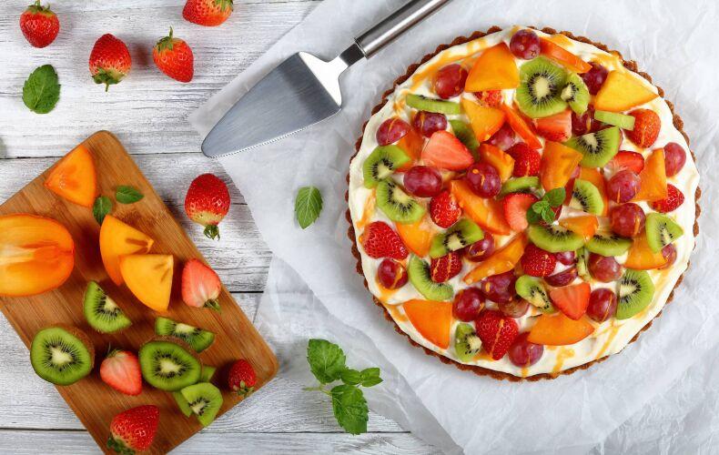 Ricetta Crostata Furba Crema E Frutta