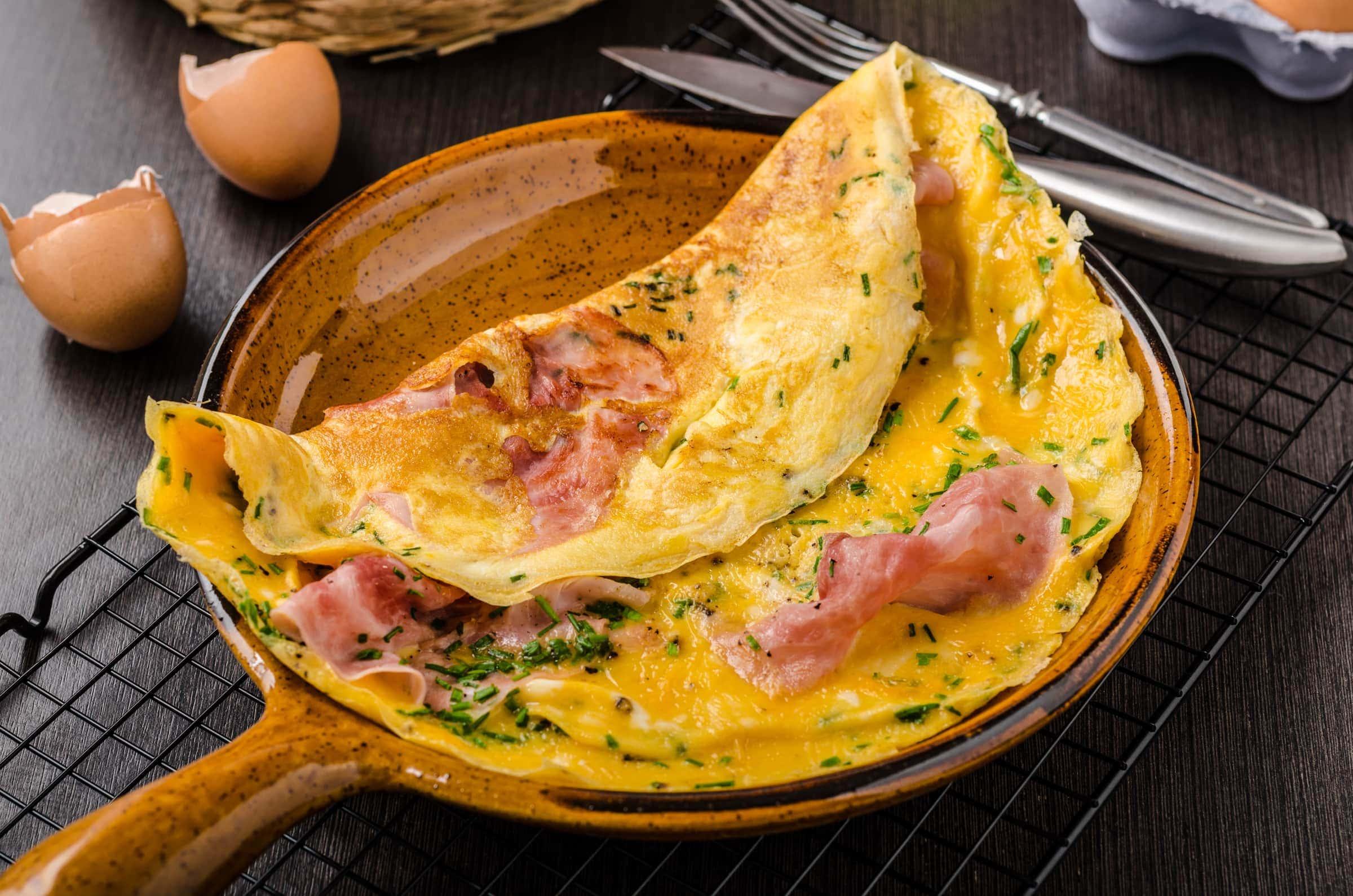 Ricetta Omelette Salate Prosciutto E Formaggio.Ricetta Omelette Prosciutto E Formaggio Il Club Delle Ricette
