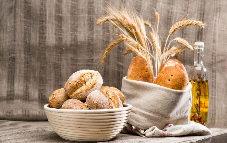 Pane Preparato Con La Biga