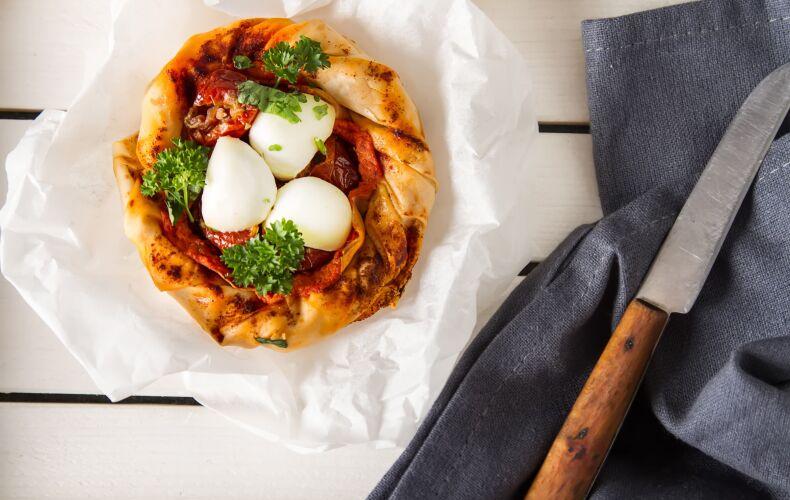 Ricetta Pizza Pasta Fillo