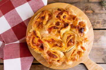 Ricetta Torta Di Rose Salata Di Pizza 2
