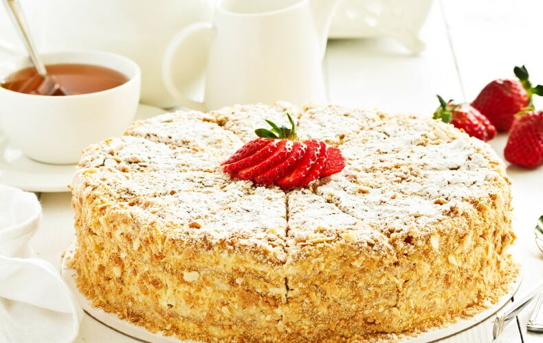 Ricetta Napoleon Cake