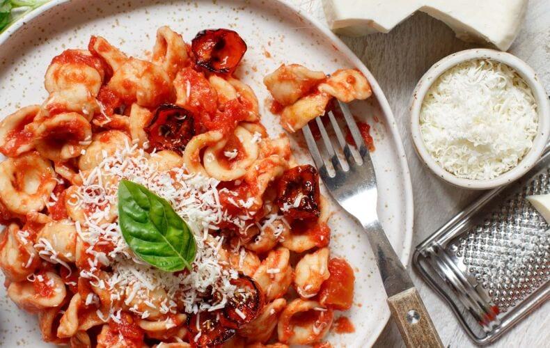 Ricetta Orecchiette Con Pomodoro E Cacioricotta