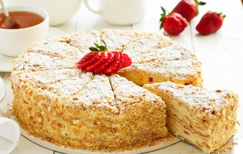 Ricetta Originale Napoleon Cake
