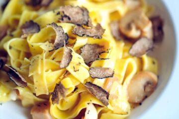 Ricetta Pasta Al Tartufo