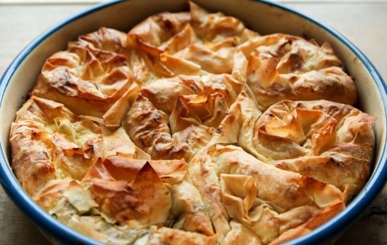 Ricetta Torta Di Rose Salata Con Pasta Fillo