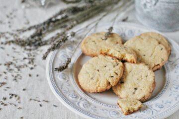 Ricetta Biscotti Alla Lavanda