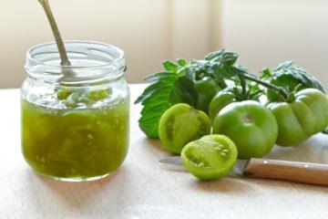 Ricetta Confettura Di Pomodori Verdi