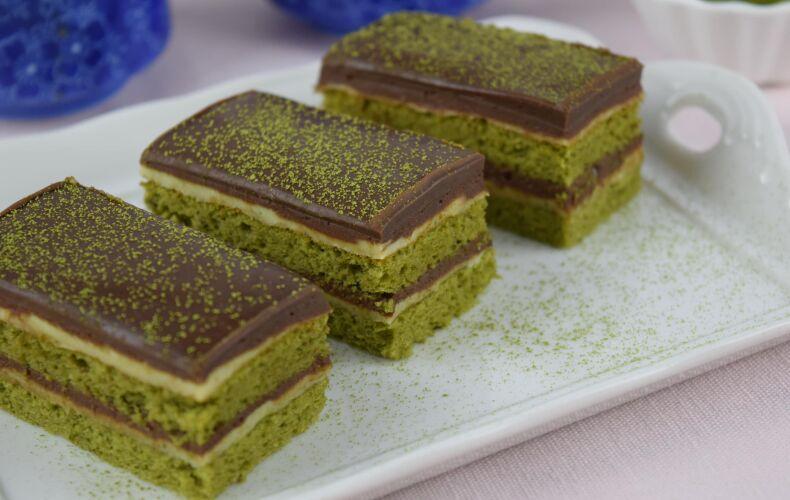 Ricetta Opera Cake Al Matcha