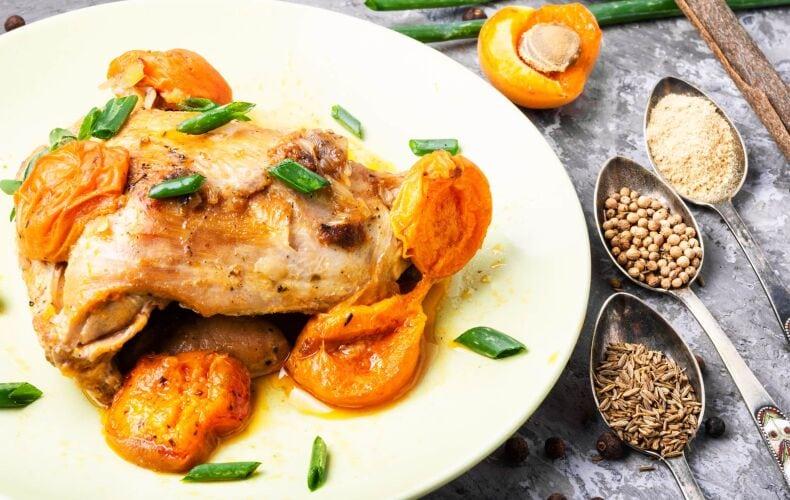 Ricetta Pollo Alle Albicocche