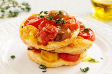 Ricetta Tartine Di Pasta Sfoglia Con Pomodorini