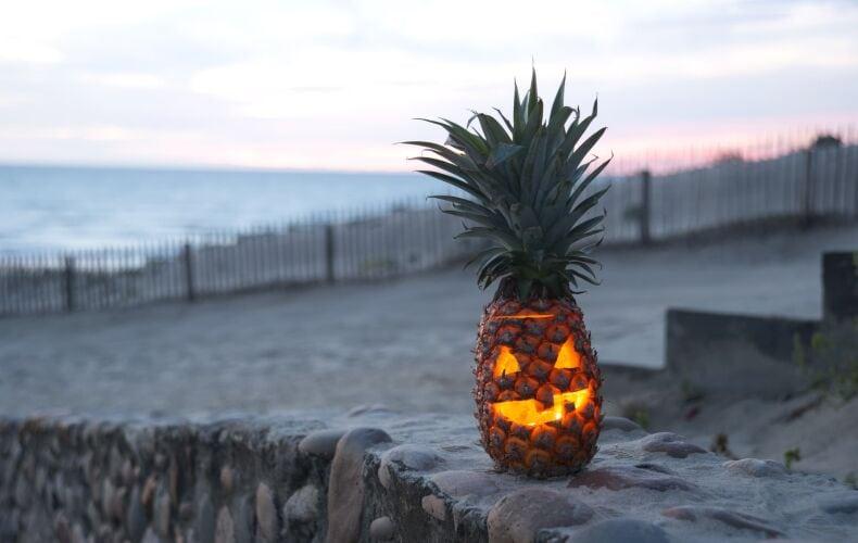 Ananas Di Halloween